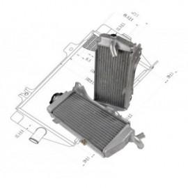 Radiador KSX para HONDA CRF250 2014-2015 Set