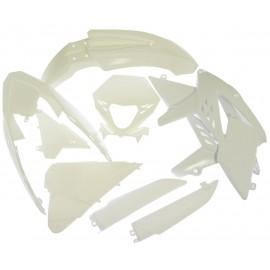 Kit completo de plástico blanco RR 2013 al 2015