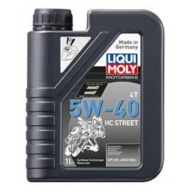 Botella de 1L aceite Liqui Moly Motorbike 4T 100% sintético 5W-40 Street Race 2592