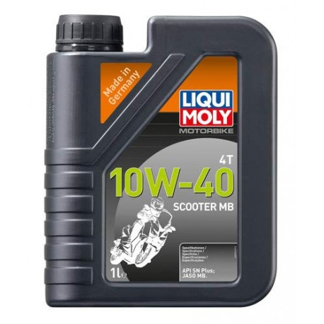 Garrafa de 4L aceite Liqui Moly Motorbike 4T semi-sintético 10W-40 Street 1243