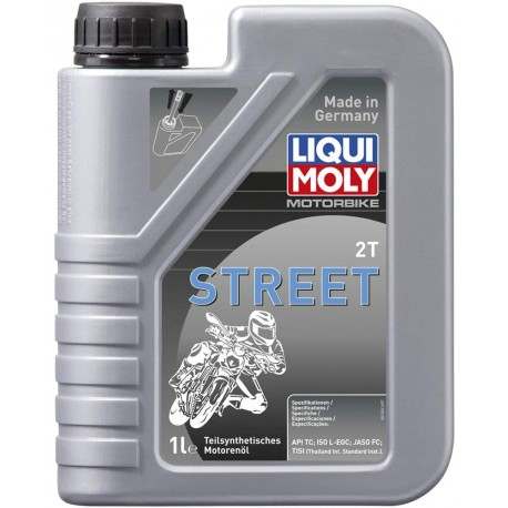 Bote de aceite Liqui Moly mezcla 2T semi-sintético 500ml