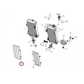 Rejilla radiador derecho rr 4t 2008-09
