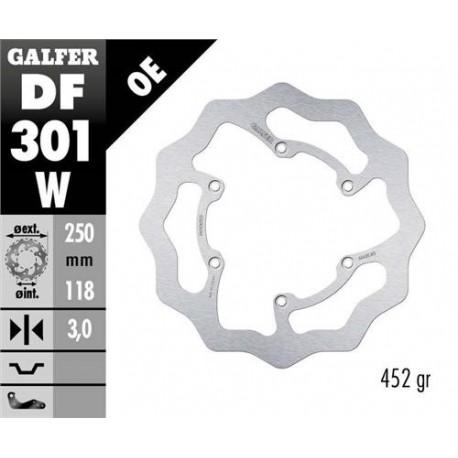 Disco freno delantero fijo GALFER Beta