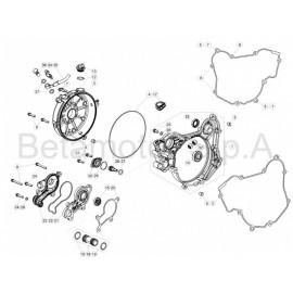 Nº4 Torica tapa embrague 145-29X1-78 Beta RR 125 2T