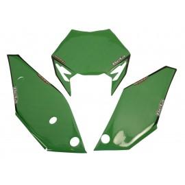 Kit portanúmero verde RR 2013 al 2017