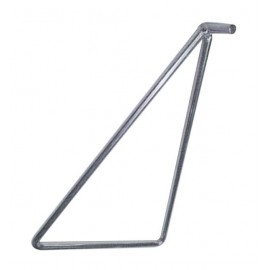 Caballete triángulo para eje trasero