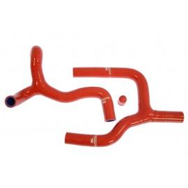 Kit de manguitos de silicona Samco  RR 4T rojo