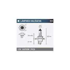 Lámpara  OSRAM 64193 H4