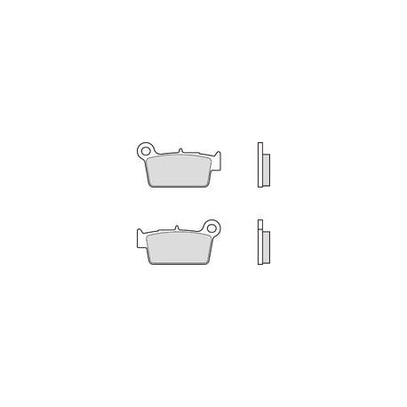 Pastillas de freno traseras sinterizadas Brembo BETA RR