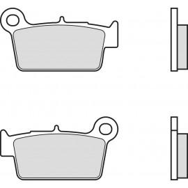 Pastillas de freno traseras sinterizadas de competición Brembo BETA RR